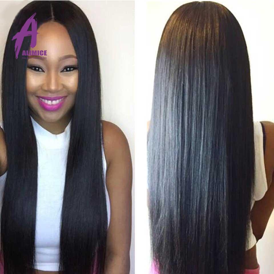 Grade 8A Mink Hair Bundles Peruvian Hair Straight Pervian Virgin Straight Hair 4 Bundle Rosa Hair Product Peruvian Straight Hair