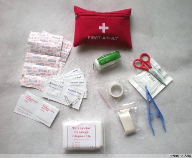 New arrival  15 in 1 First Aid Kits Bag Camping Travellers case Home Emergancy Case Wholesale 10packs/lot