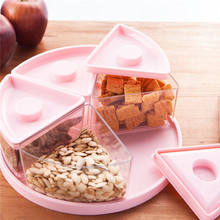 Buy Snack storage cases Food grade PP+PS healthy storage boxes Dried fruit 5 boxes 25*8.8cm food container free Q-34 for $33.98 in AliExpress store