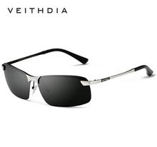 Marca polarizadas gafas de sol sin montura gafas deporte gafas de sol de conducción gafas gafas para hombre gafas de sol masculino