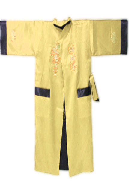 6 цветов! Китайский мужской шелковый атлас реверсивный одеяние платье красно-двустороннее ...