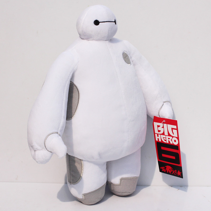 EMS 100pcs/lot  30CM The big hero 6 plush  Baymax plush dolls<br><br>Aliexpress