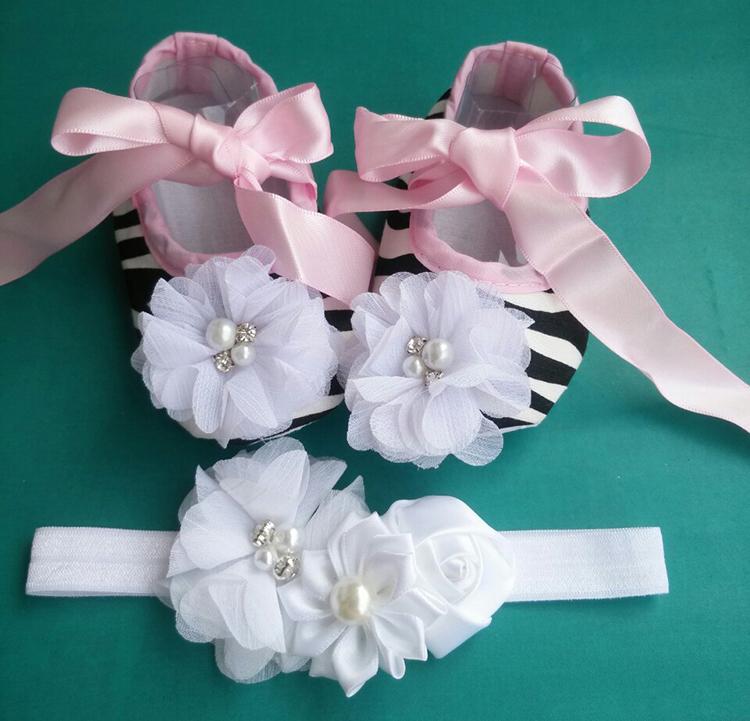Ivory Flower Girl Shoe Toddler Headband,princess toddler girl shoes,Newborn Baby Girl Baptismal Set,baby shoes ballerina(China (Mainland))