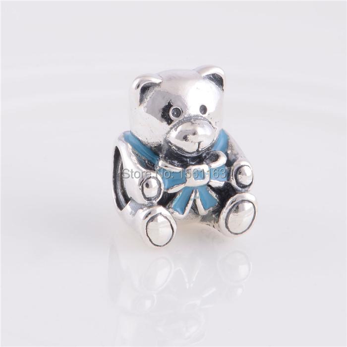 fits pandora charms bracelet teddy baby boy charms