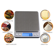 Buy Digital Scale Pocket Jewelry Weight Electronic Balance Scale Kitchen Precision Scale Weight Measurement Tools 1000g x 0.1g for $8.28 in AliExpress store