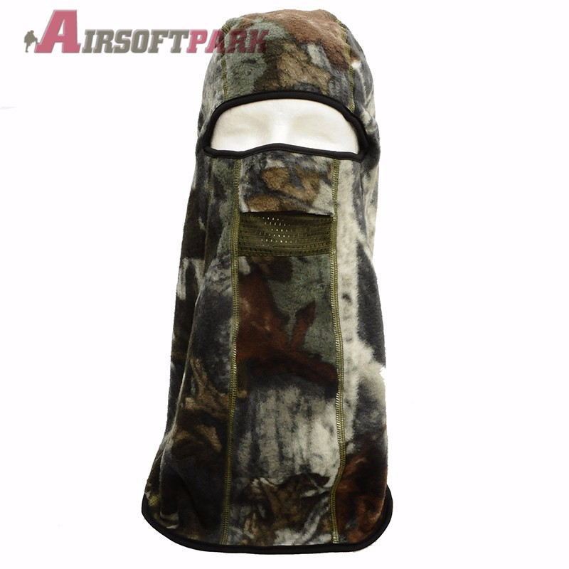 Tactical Multi-functional Camouflage Fleece Full Face Mask Cap Scarf Winter Windproof Military Ski Hat Snowboard mask RZ-G-06
