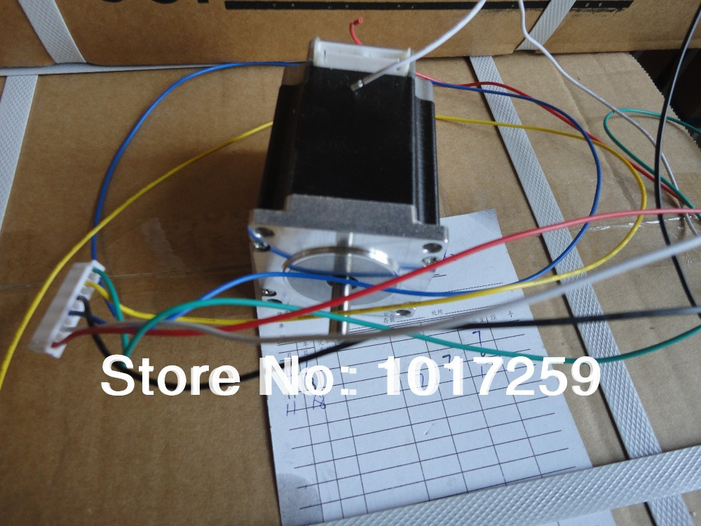 new product , 3pcs nema23 extension cord(3phase ) 3A 76mm stepper motor / stepping motor(China (Mainland))