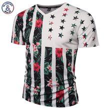 Buy Mr.1991INC USA Flag Flowers T-shirt Men/Women Fashion Brand Tshirt Print Skulls Trees V-neck Summer T shirt Tops Tees for $9.12 in AliExpress store
