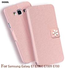 Buy mobile phone bag Samsung Galaxy E7 E7000 E7009 E700 Case Original Flip Cover Phone Case PU Leather Cover Case stand for $2.95 in AliExpress store