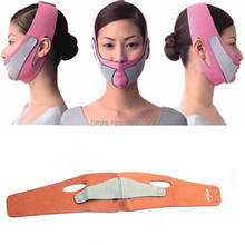 High Quality Slimming Face Mask Shaping Cheek Uplift Slim Chin Face Belt Bandage Health Care Weight Loss Products Massage t45
