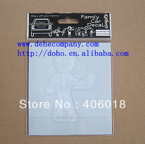 64 designs (128pcs/lot ) Newly designing & Big discount auto chrome sticker --- DH2882(China (Mainland))