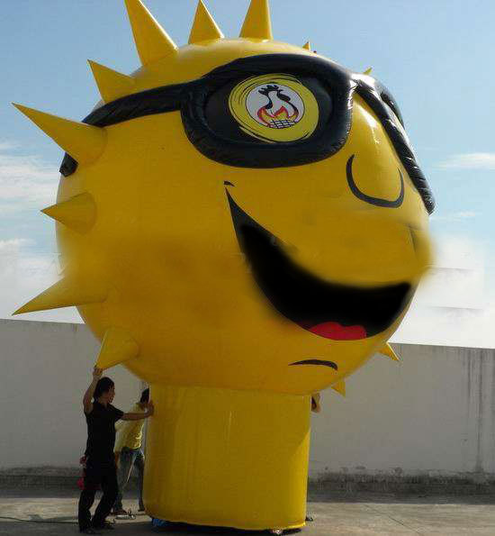 inflatable advertising balloon sunshine toy model giant(China (Mainland))