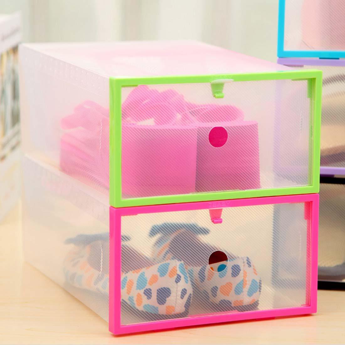 Shoebox Shoe Storage shoe Cabinet Rack Plastic rack Home storage Box shoe Hanger(China (Mainland))
