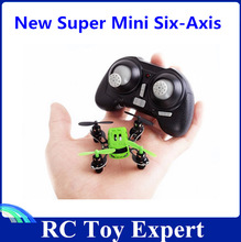 Four-Axis aircraft with a new ultra- small mini pocket light rechargeable helicopter toy model airplane