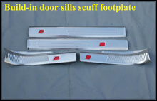8pcs(build-in+build-out) Door Sills scuff footplate,guard plate,door sills protection bar Audi Q3 - Higher star Autoparts Store store