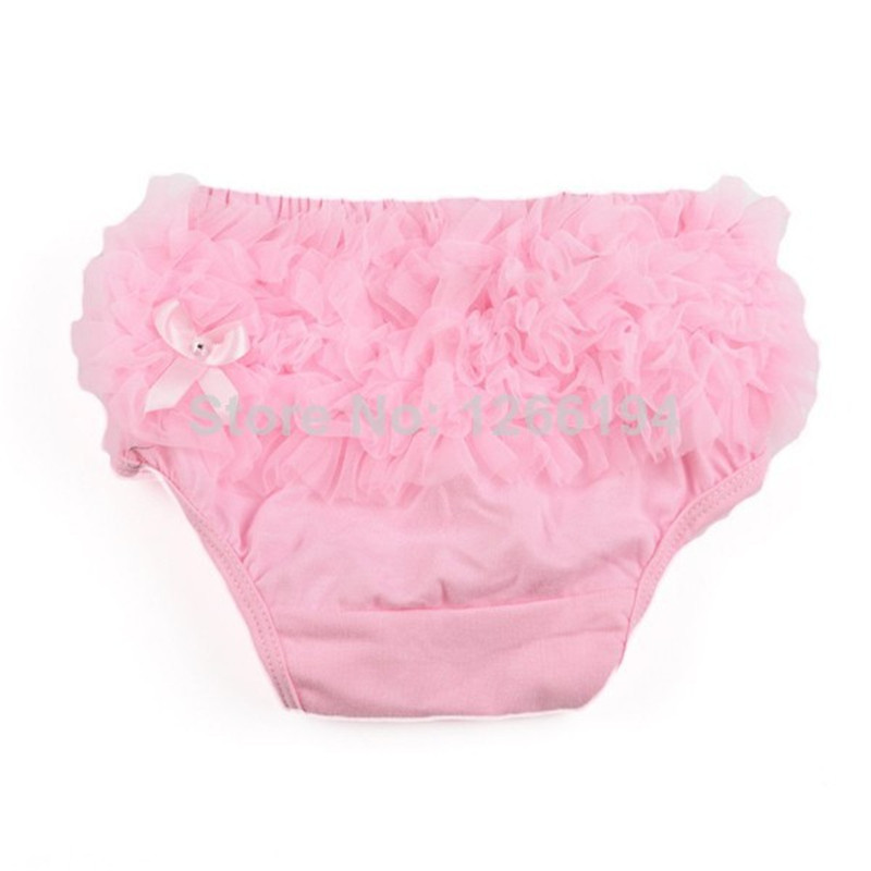 Print Bow Decorate Baby Bloomers Diaper Covers Drawstring Baby Ruffle Shorts Unisex Mid Baby Ruffle Pants For 0-2T