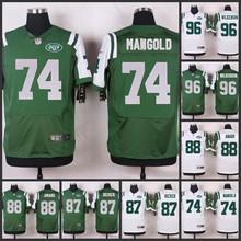 ABCHOT Elite men HOT York Jets 96 Muhammad Wilkerson 88 Jace Amaro 87 Eric Decker 74 Nick Mangold 50 Darron Lee D-4(China (Mainland))