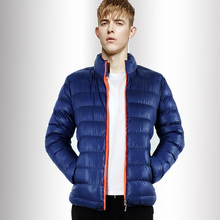 Winter coat jacket male casual short Slim thin youth warm duck down trend cotton plus size jacket for men mens Outerwear(China (Mainland))