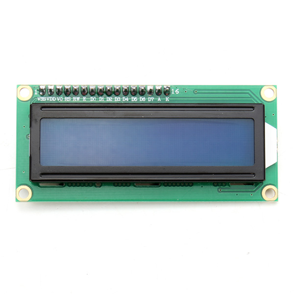 New IIC/I2C 1602 Backlight LCD Display Module Blue Screen Controller For Arduino Power Supply Voltage +5 v(China (Mainland))
