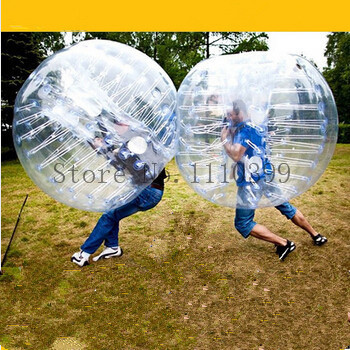 PVC 1.2m 1.5m 1.7M Bubble Soccer Ball Air Bumper Ball Inflatable Body Grass Body Zorb Ball For Sale Soccer Zorb Ball(China (Mainland))