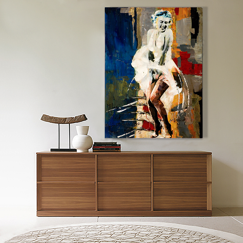 Здесь можно купить  Hot Sale Marilyn Monroe Abstract Oil Painting Hand Painted Oil Painting On Canvas Oil Painting for Home Decor Wall Decor Hot Sale Marilyn Monroe Abstract Oil Painting Hand Painted Oil Painting On Canvas Oil Painting for Home Decor Wall Decor Дом и Сад