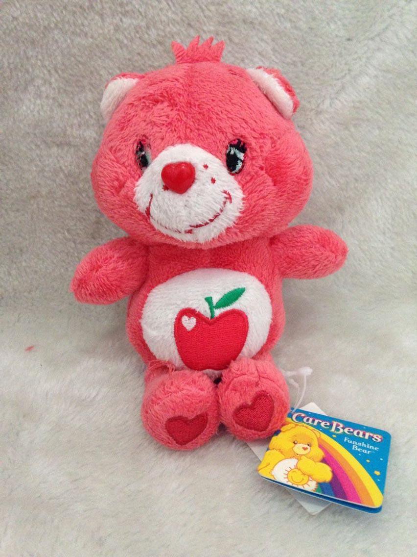 Rainbow Bear Care Bears Plush Toys Doll, Stuffed Animals Plush Mini Bear Dolls 20cm(China (Mainland))