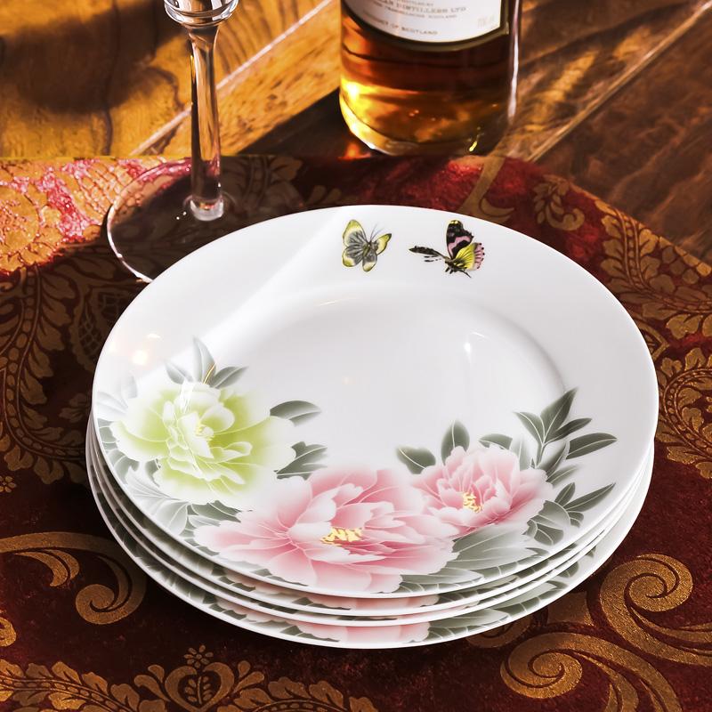 Vajilla de porcelana flor y mariposa decoraci n en sets for Vajilla para bar