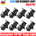 By Fedex 8pcs lot High Power 60W DMX Scanner Light Big Discount led Stage dj lights