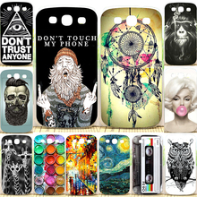 New Arrival Perfect Design Painting Pattern Case For Samsung Galaxy S3 Back Cover For Samsung i9300 Phone Cases(China (Mainland))