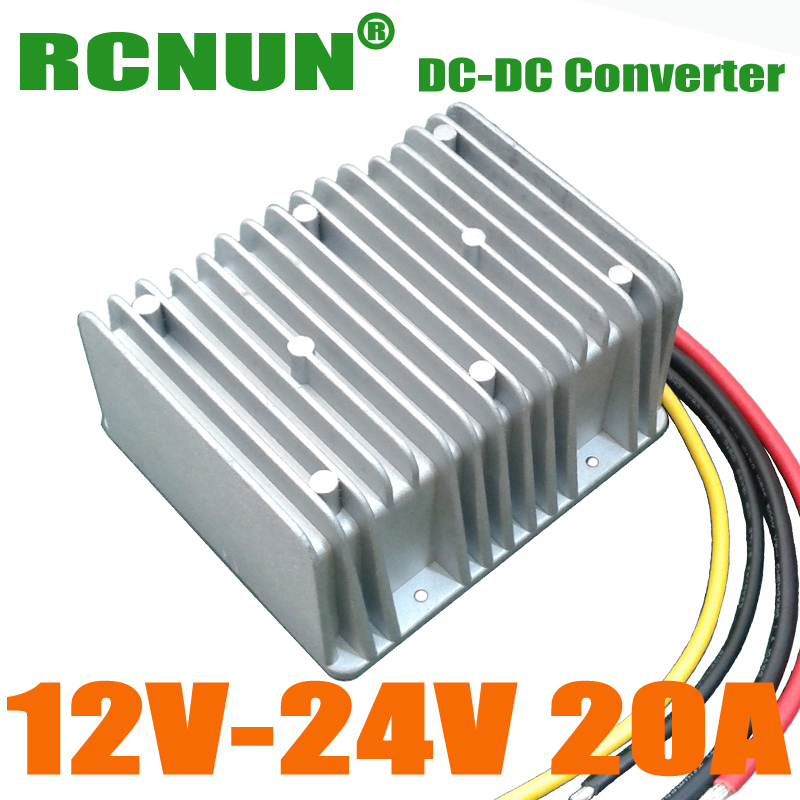 New Arrival!! 12V to 24V 20A Step Up DC to DC Converter Regulator 500W Boost Power Module(China (Mainland))