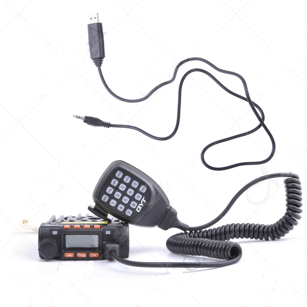 New Product !!QYT KT8900 Mini Mobile Radio Transceiver + Programming Cable(China (Mainland))
