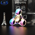 Colorful Metal Two-Spinner Fidget Spinner Toy Metal EDC Hand Spinner Rotation Time Long Anti Stress Toys Child Gift