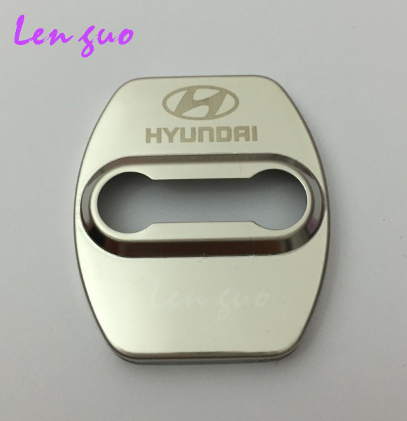 Excellent New stainless steel door cover case for accent ix35 elantra i30 getz santa fe hyundai solaris accessories car styling(China (Mainland))