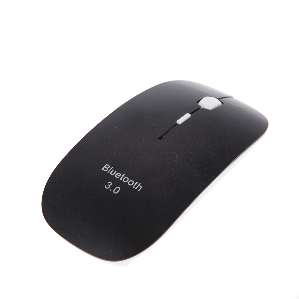 US STOCK Black Mini Ultra-Slim 3D Bluetooth 3.0 Wireless Optical Mouse Mice 1600DPI For Macbook Windows 7 XP Vista Laptop(China (Mainland))