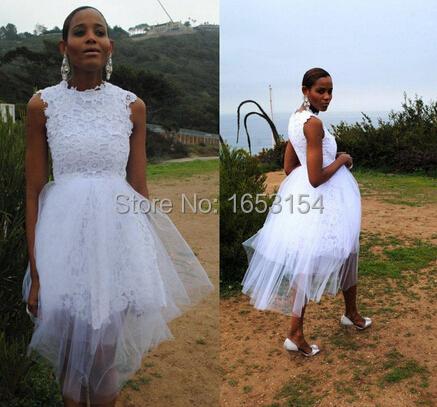 New romantic beach wedding dresses cheap scoop lace for Plus size maternity wedding dresses cheap