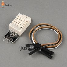 DHT22 AM2302 Digital Temperature Humidity Sensor Chip For Arduino Electronic Brick with 3 Free Cables (5pcs)