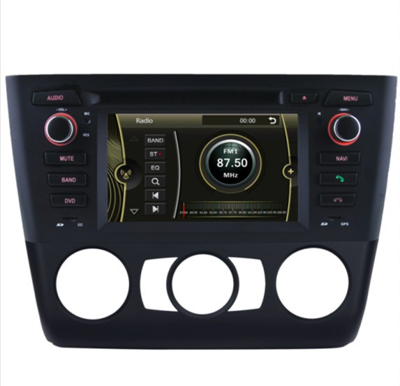 car DVD player fit for BMW 1 Series E81 E82 E87 E88 bluetooth USB Analog TV IPOD Steering wheel control Touch Screen AM FM(China (Mainland))