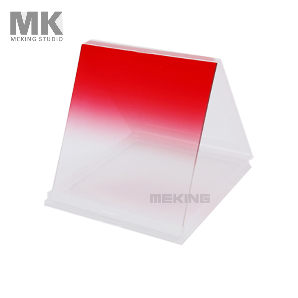 Selens Square Color Filter Gradual Red for Cokin P Series(China (Mainland))