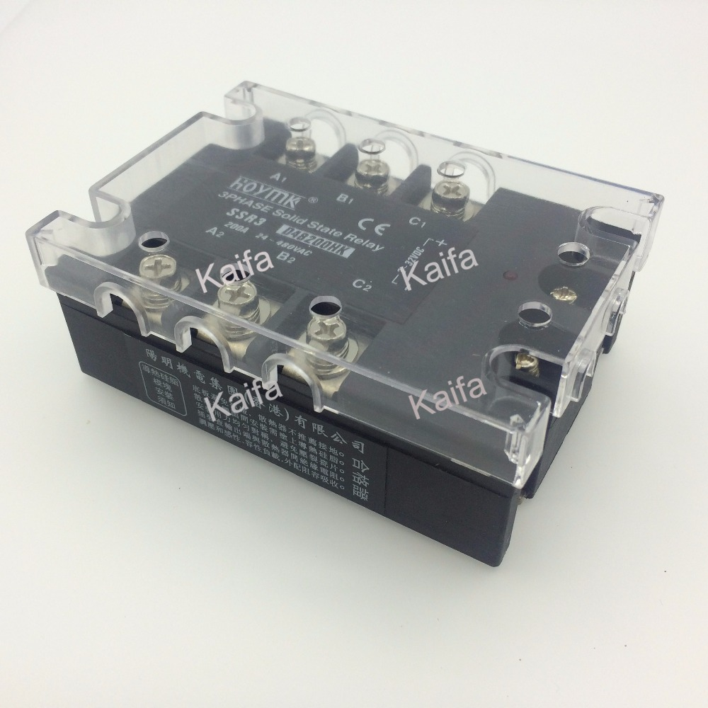 Фотография wholesale genuine Solid State Relay SSR3-D48200HK 200A 24-480VAC