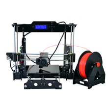 3D Printer Acrylic Frame LCD Screen Acquired Reprap Prusa I3 desktop 3D Printer Machine High Precision