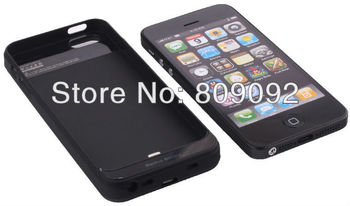 2800Mah Rechargeable External Backup battery charger power bank case for iphone 5