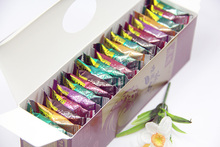 Chinese Tea Blocks Yunnan Fruit Tea Best Gift 42 Pieces 125g Mixed Tastes Square Shape Tea