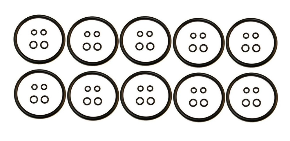 QTY 10 Cornelius Keg O-Ring Gasket Seal Rebuild Kit Set Beer Soda Ball Pin Lock(China (Mainland))