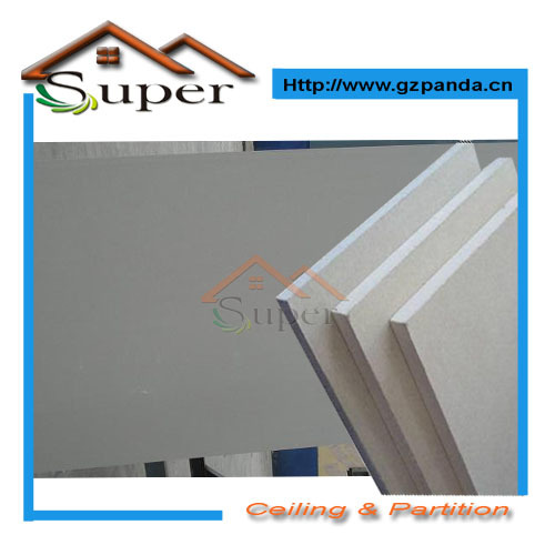 Low price high quality gypsum board plaster board drywall(China (Mainland))