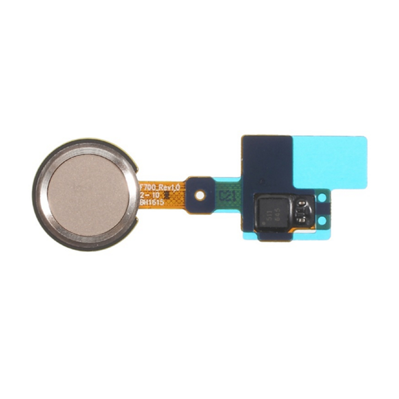 YJ 10 pieces/lot for OEM Fingerprint Home Button Flex Cable Assembly for LG G5 - Gold/grey(China (Mainland))