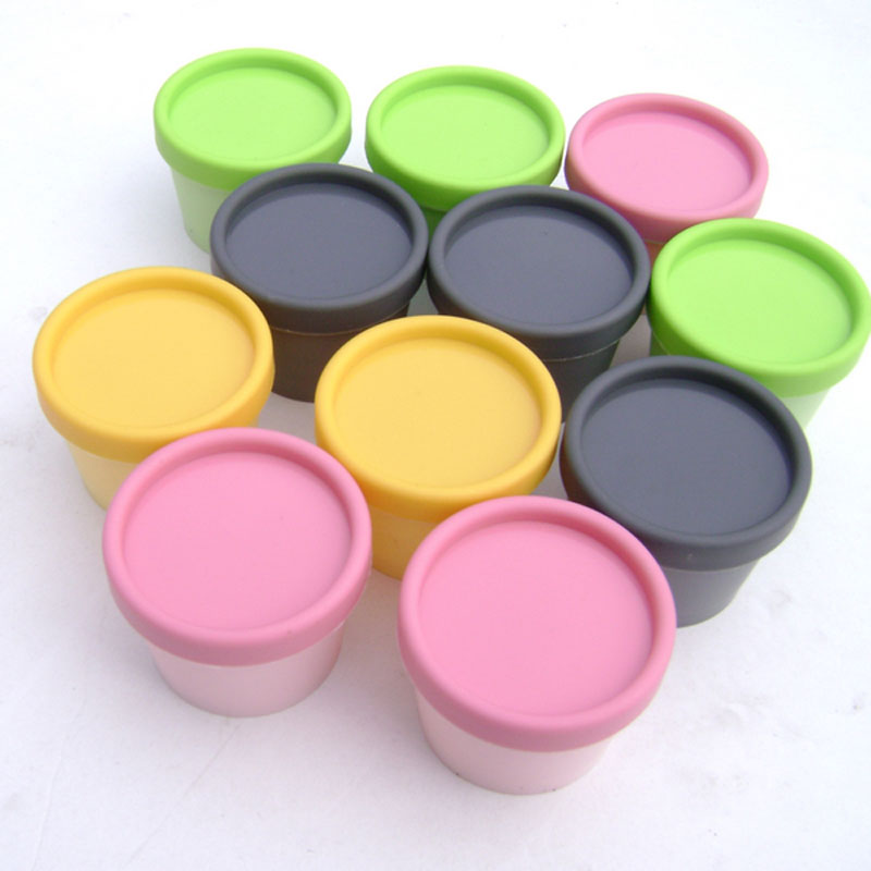 100g X 50 empty cylinder colored mask cream PP plastic bottle,100ml skin care facial cream jars containers colorful plastic pot(China (Mainland))