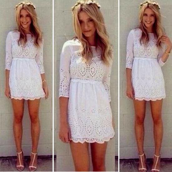 Женское платье Slim Dress 2015 3/4 s/xl Casual Summer Dress женское платье summer dress 2015cute o women dress