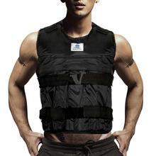 44LBS / 20 кг регулируется вес взвешенный жилет фитнес-упражнения обучение нового