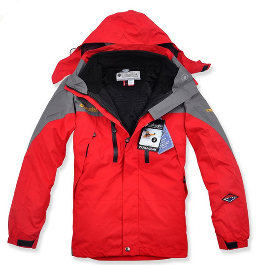 NEW Warm man's jacket coat, the Colombian fashion clothes, winter coat 2, and 1 2-layer coat coat, Male Outdoor skiing Clothing(China (Mainland))