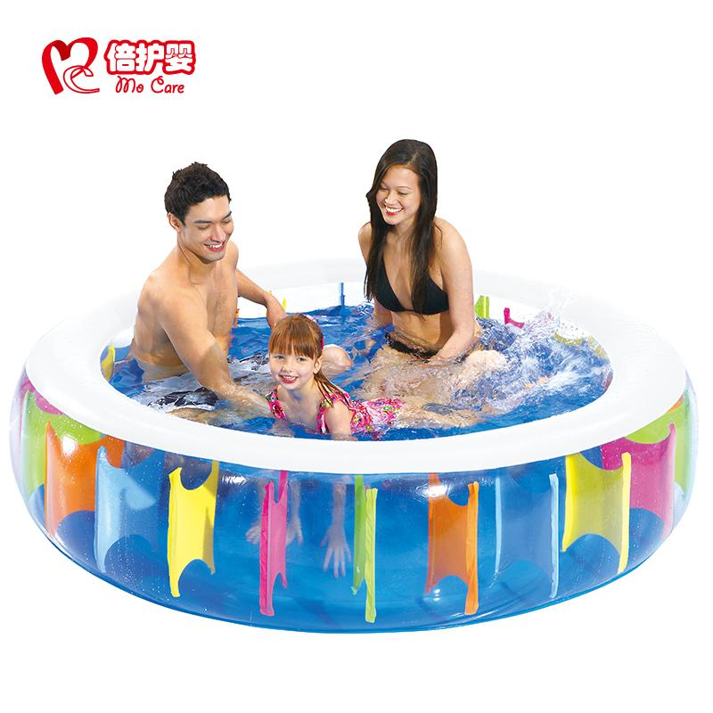 Home children's inflatable swimming pool home adult large oversized circular tanks thickened paddling pool(China (Mainland))